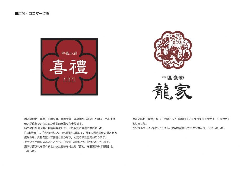中華料理店リノベーション提案